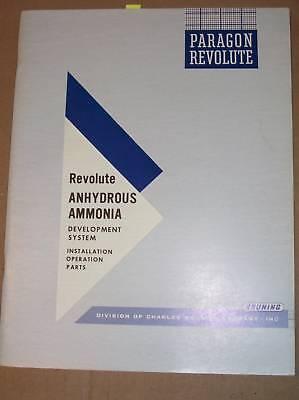 Bruning Revolute Opsparts Manualanhydrous Ammonia