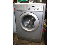 SILVER WASHER DRYER DRIER WASHING MACHINE.FREE DELI VERY LOCAL TO B,MOUTH AND LYMINGTON AREAS