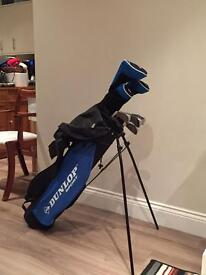 Full set of starter golf clubs