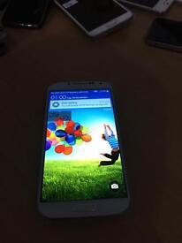 Samsung Galaxy S4 - 16 GB - white - Unlocked like new phone