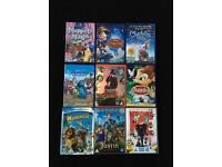 9 kids DVDs