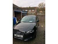 Audi A3 black edition s-line 170bhp