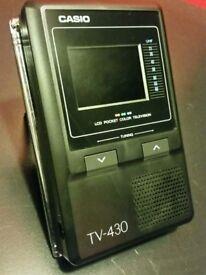 Casio Pocket Colour Television LCD
