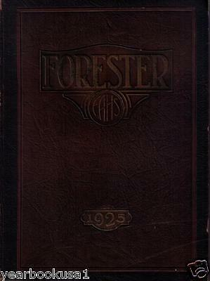 Forest Avenue High School Dallas Texas 1925 Forester Hs Yearbook Annual