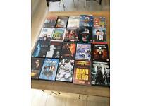 Job lot of 28 DVDs - some still sealed