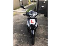 Honda vision 110cc black 2011