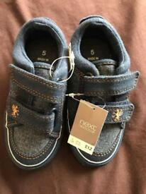 BNWT boys shoes from Next. RRP £12. Bargain at £5 !