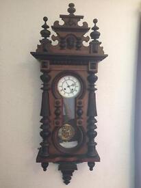 19th century antique cabinet clock