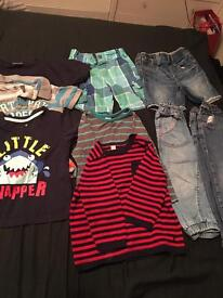 Bundle of 12-36 years old boys clothes