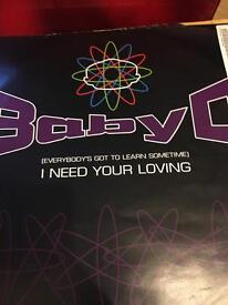 Baby D vinyl