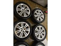"""17"""" GENUINE VAUXHALL ASTRA, VECTRA ZAFIRA SET OF 4 WITH TYRES"""
