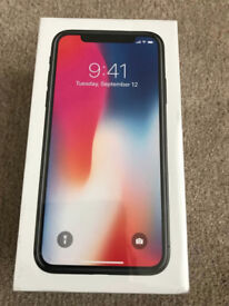iPhone X brand new, sealed unwanted upgrade MASSIVE 256gb