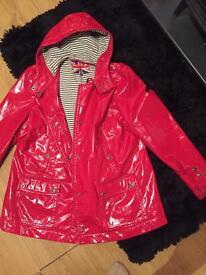Red NEXT coat (22) £10