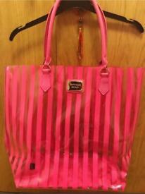 Used unique genuine Victoria secret tote bag