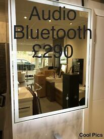 LED AND BLUETOOTH MIRRORS, BATHROOM SUITES etc FROM CREATIVE BATHROOMS DUNDONALD