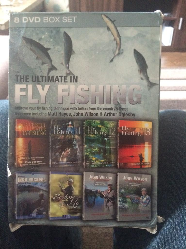 The Ultimate Fly Fishing 8 Disc DVD box set
