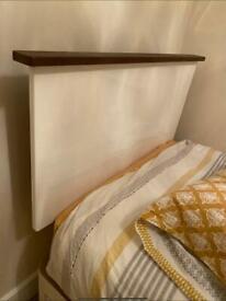 Single Bed - Custom Headboard