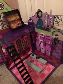 Monster High School and Disco Playset