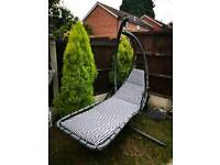 Helicopter hammock garden chair