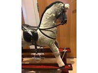Beautiful, large gliding Rocking Horse