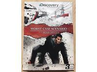 Bear Grylls 'Worst Case Scenario' DVD Box Set of 3