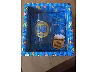 18 today beer mug gift set *new*