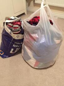 Two big bags of boys clothes aged 2-3 years