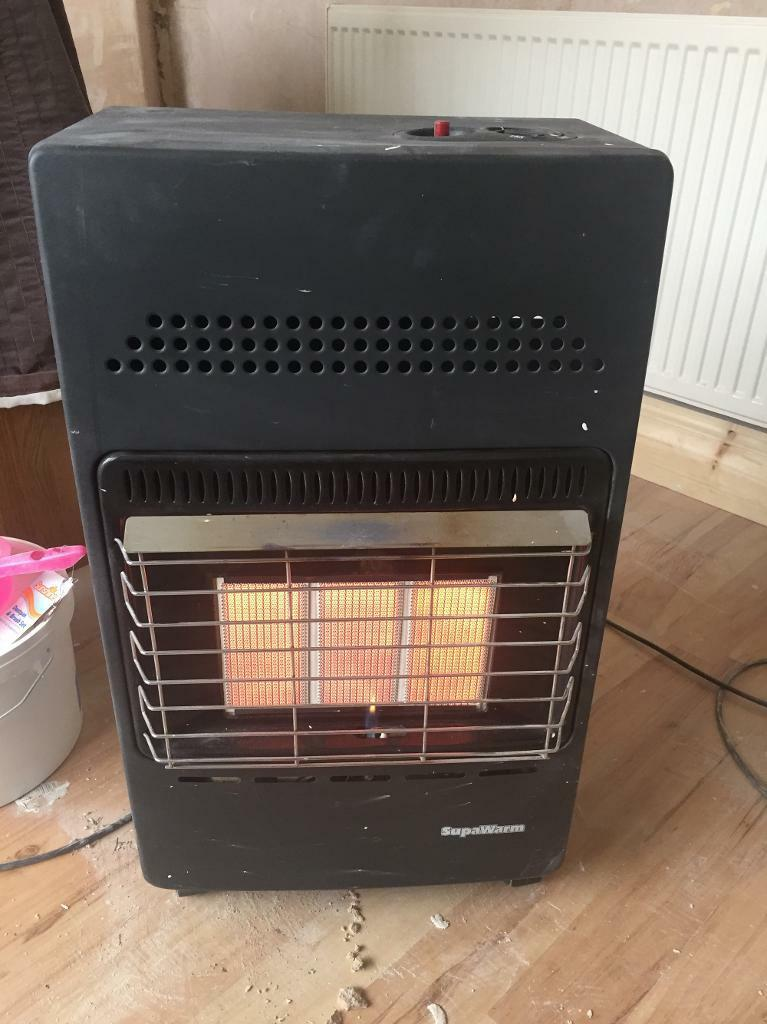 Supawarm gas heater