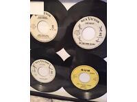 Elvis Presley RCA label 45 records lot promo rare vg