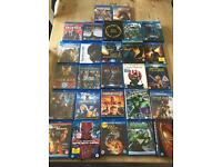 Blu Ray bundle. Marvel * DC * blockbusters