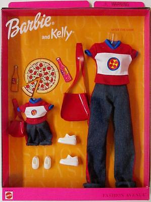 Barbie & Kelly Fashion Avenue After the Game Matching Styles #24317 (New)