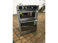 Hotpoint DE47X double oven - Integrated - Stainless Steel