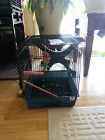 Two birdcages for sale