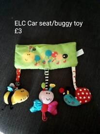 ELC buggy / car seat toy