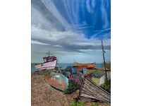 Deal Beach A3 Giclee limited edition prints