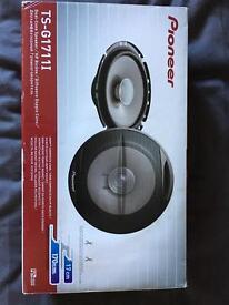 Pioneer door speakers