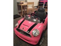 Pink push mini