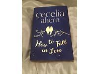 Cecelia ahern hard back book