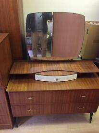 Dressing Table Up Cycle Vintage Retro