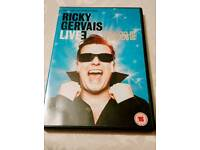 2 Ricky Gervais DVDs ghost town and frame