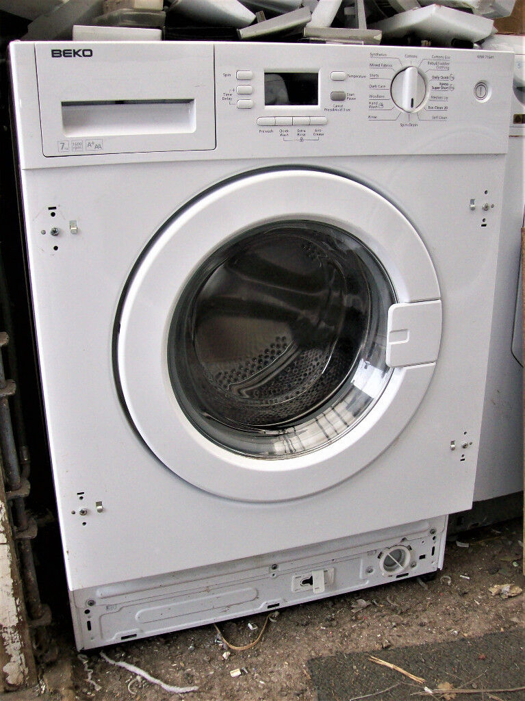 BEKO INTEGRATED WASHING MACHINE.FREE DELI VERY B,MOUTH AND LYMINGTON AREA