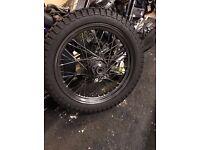 "Harley Davidson 19"" Dual flange wheel (Shovel Head)"