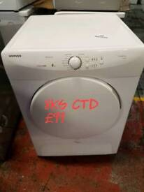 Hoover 8kg condenser dryer free delivery in derby
