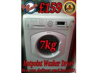 Hotpoint 7kg Washer Dryer White
