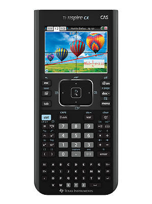 TI NSPIRE CX CAS COLOR GRAPHING CALCULATOR NEW