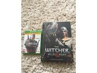 The Witcher - wild hunt.. Game of the year edition and collectors guide (hardback) Xbox one