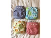 Bambooty Cloth Nappies x 4