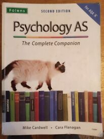 Psychology course/revision book for AS level second edition