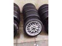 "Bmw Mv1 18"" Alloy Wheels Can Sell Single Can Post Part Ex Welcome"
