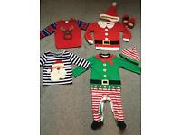 Christmas outfits 9-12 months